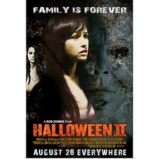 """Halloween 2 (2009)"" Poster Print"