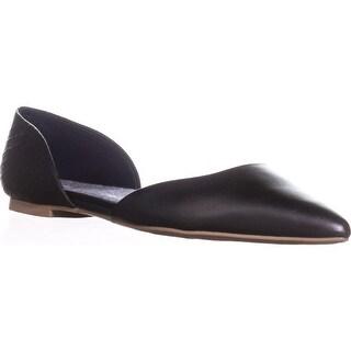 Dr. Scholls Svetlana D'Orsay Ballet Flats, Black Python