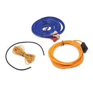 Link to Audio Subwoofer Amplifier Wiring Fuse Holder Kit RCA Cable for Car Vehicle - Blue, Orange, Yellow, Black Similar Items in Car Audio & Video