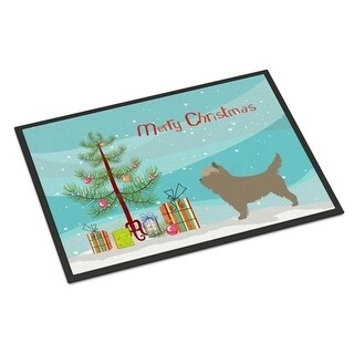 Carolines Treasures BB8448MAT Cairn Terrier Christmas Indoor or Outdoor Mat - 18 x 27 in.