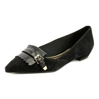 Marc Fisher Talley Women Pointed Toe Suede Flats