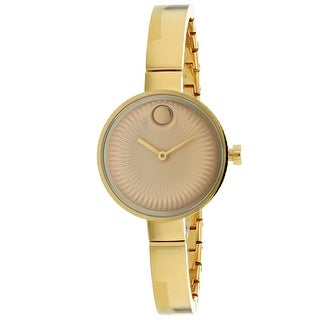 85424a795 Shop Movado Women's Edge Watch - 3680021 - N/A - Free Shipping Today -  Overstock - 28528751