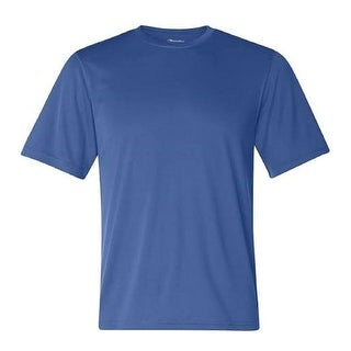 Champion Men's Short Sleeve Jersey T-Shirt Deep Royal Small