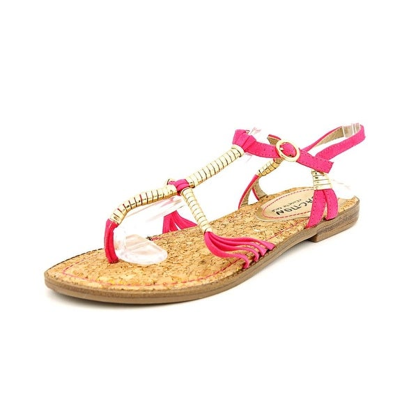 Kenneth Cole Reaction Slab A Dab Pink Sandals