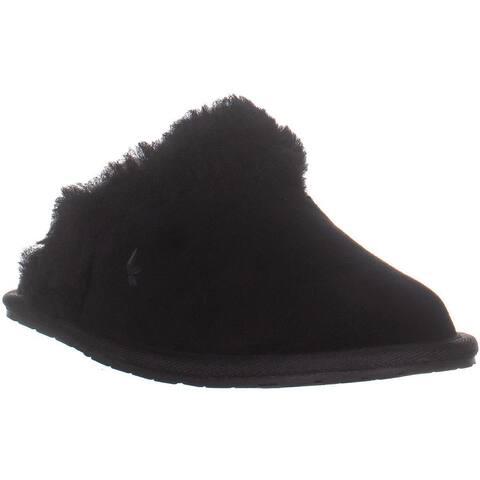 UGG Milo Laceup Low Top Sneakers, Black