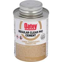 Oatey 1/4Pint Pvc Cement 31012 Unit: EACH