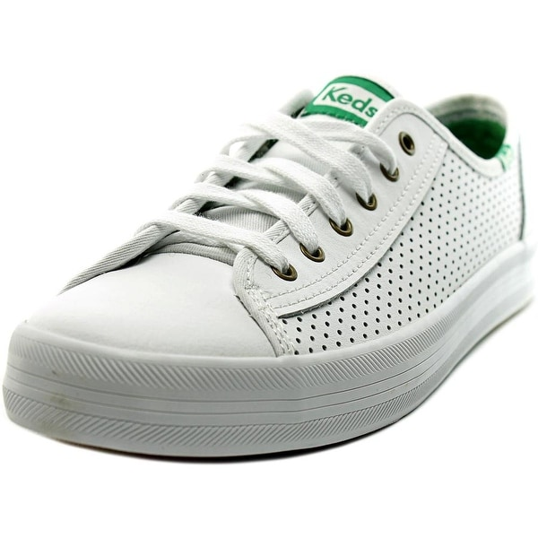 Keds Kickstart Women Round Toe Leather Sneakers