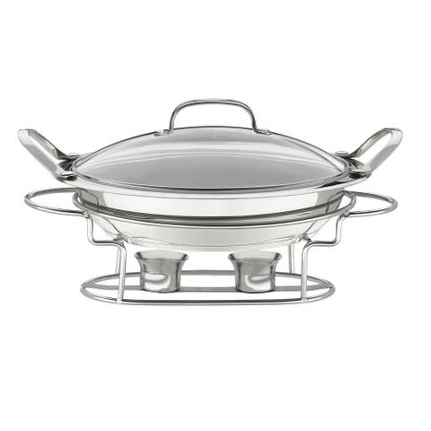 Cuisinart 7BSR-28 Stainless 11-Inch Round Buffet Servers