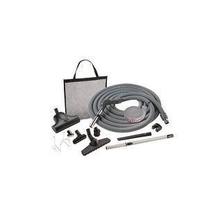 Nutone CS400 Central Vacuum Carpet and Bare Floor Combination Attachment Set with Pet Care Brush - n/a