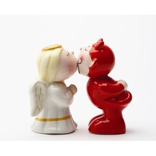 Devil & Angel Magnetic Salt & Pepper Shakers