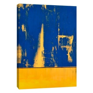"""PTM Images 9-105291  PTM Canvas Collection 10"""" x 8"""" - """"Squeegeescape 8"""" Giclee Abstract Art Print on Canvas"""