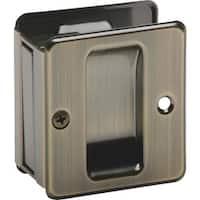 Schlage Lock Ab Pass Pocket Door Pull SC990B-609 Unit: EACH