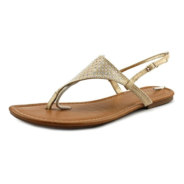 Rampage Rita Open Toe Canvas Thong Sandal