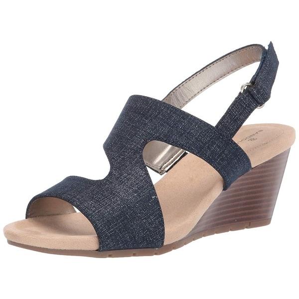 Bandolino Women's Shoes Gannett Open Toe Casual Platform Sandals. Opens flyout.
