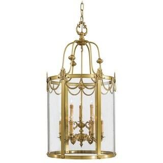 Metropolitan N850909 6 Light Lantern Pendant from the Metropolitan Collection - dore gold