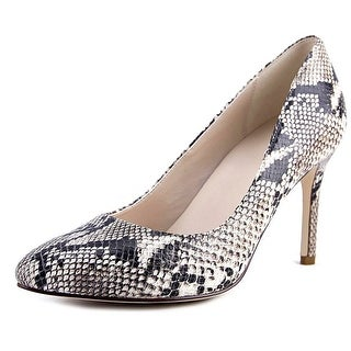 Cole Haan Fair Haven Pump 85 Women  Pointed Toe Leather Multi Color Heels
