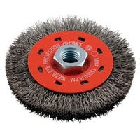 Forney Industries 72788 Crimp Wire Wheel Brush, 4""