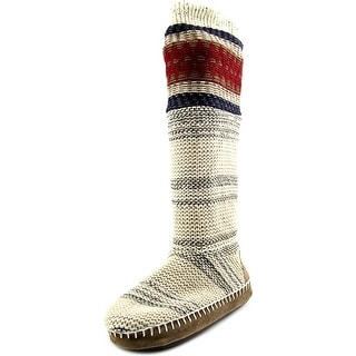Muk Luks Angie Americanna Women Round Toe Synthetic Slipper