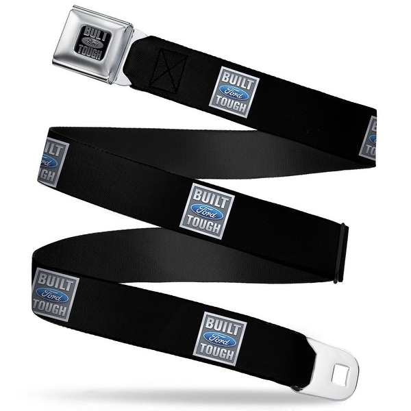 Built Ford Tough Built Ford Tough Logo Repeat Seatbelt Belt Fashion Belt