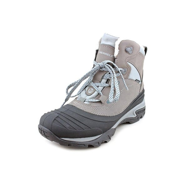 Merrell Snowbound Mid Women Round Toe Leather Snow Boot