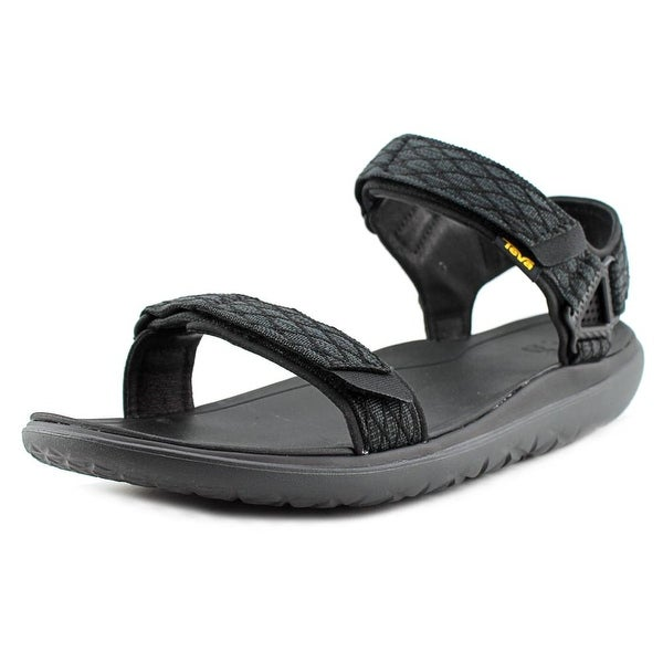Teva Terra-Float Livia Men Open-Toe Canvas Black Slingback Sandal