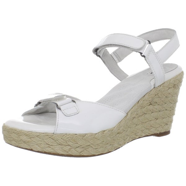 SoftWalk NEW White Shoes Size 10.5M Platforms & Wedges Leather