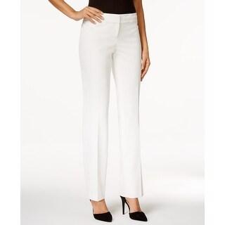 Nine West NEW White Ivory Career Women's Size 14 Straight Dress Pants