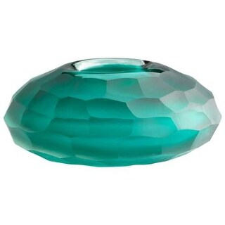 Cyan Design Small Ice Vase Ice 2.5 Inch Tall Glass Vase - Emerald