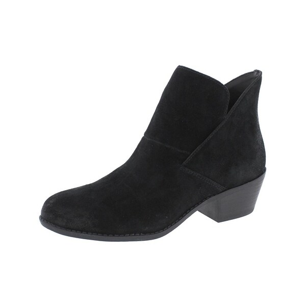 Me Too Womens Zale14 Booties Suede Round Toe