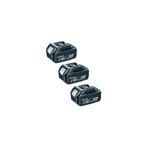 Replacement For Makita BL1850 5000mAh Power Tool Battery (3 Pack)