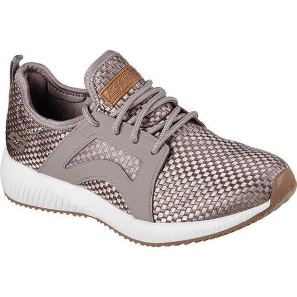 ca24cb309e3bcf Shop Skechers Women s BOBS Squad Insta Cool Sneaker Taupe - Free ...