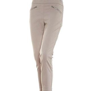 Emaline Beige Taupe Women's Size 20W Plus Dress Pants Stretch