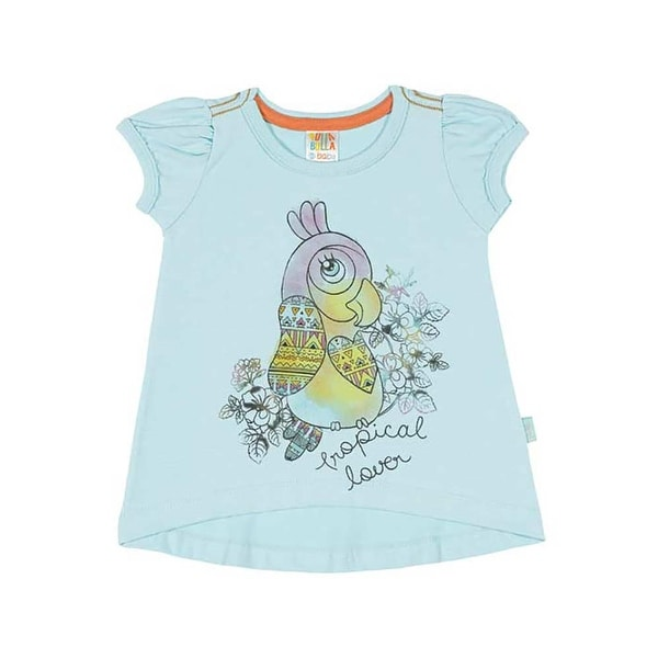 Baby Girl Shirt Infant Owl Graphic Tee Pulla Bulla Sizes 3-12 Months