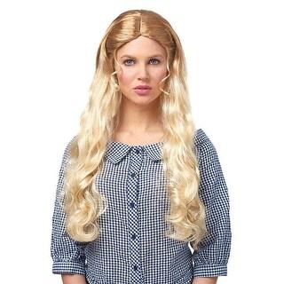 West Girl Women's Costume Wig  - Blonde - Yellow