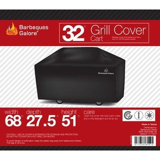 """Barbeques Galore 32"""" Grill Cover for Freestanding Gas Grill"""