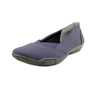 Ros Hommerson Cady Women N/S Round Toe Leather Blue Flats