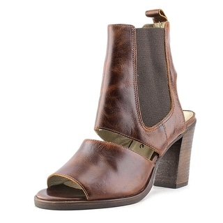 Matisse Smith Women Open Toe Leather Brown Sandals