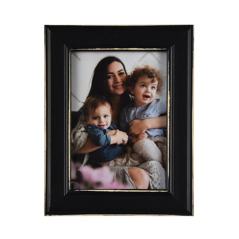 """Brewster TF464657 Fetco Longwood 5"""" x 7"""" Wood Picture Frame - Set of (2)"""