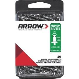Arrow 3/16X1/4 Alum Rivet