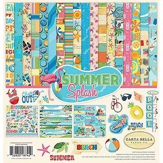 "Summer Splash - Carta Bella Collection Kit 12""X12"""