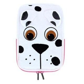 Tabzoo TZ431PD 8 in. Plush Universal Dog Tablet Sleeve