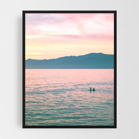 Venice Los Angeles California Beach Framed Wall Art Print