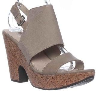 Naya Misty Slingback Wedge Sandals - Frappe