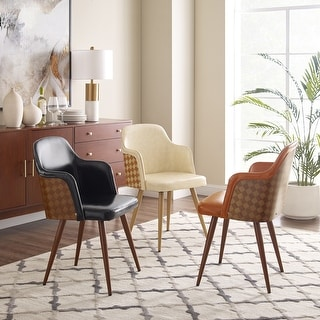 Link to Art-Leon Mid-Century Faux Leather Accent Arm Chair Similar Items in Living Room Chairs