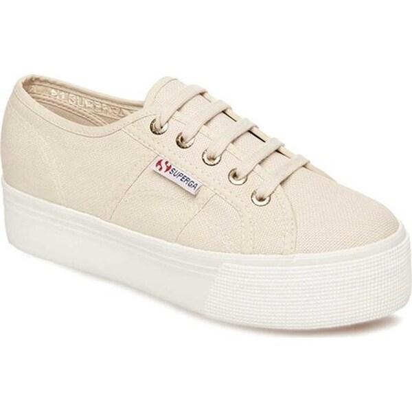 8b30354aa7e ... Women s Sneakers. Superga Women  x27 s 2790 ACTOW Flatform Sneaker Cafe  Noir Canvas