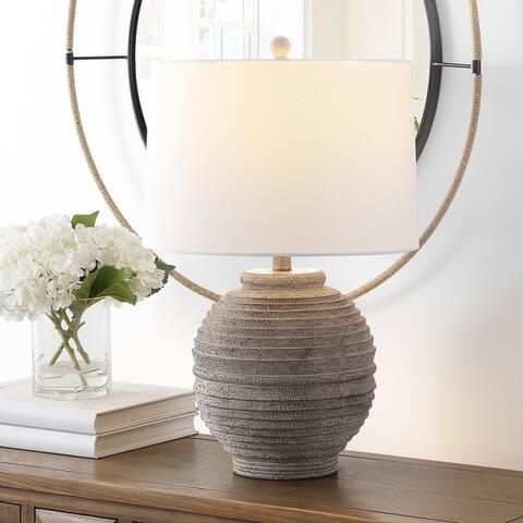 "SAFAVIEH Lighting Pendri 24-inch LED Table Lamp - 15"" W x 15"" L x 24"" H"