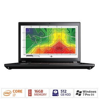 "Lenovo 20ER000RUS ThinkPad P70 series Notebook w/17.3"" IPS Full HD Display & Intel Core i7 Processor"