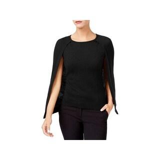 Kobi Halperin Womens Lilianna Cape Sweater Merino Wool Pullover