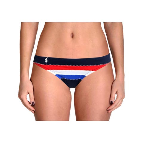 Polo Ralph Lauren Womens Taylor Colorblock Hipster Swim Bottom Separates