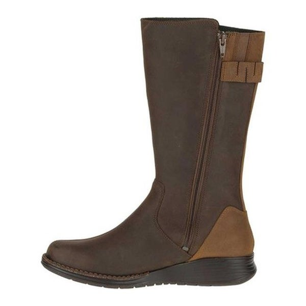 Travvy Tall Waterproof Boot Clay